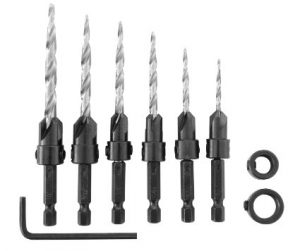 IRWIN TOOLS 1882792 SPEEDBOR 8-PIECE WOOD DRILL BITS